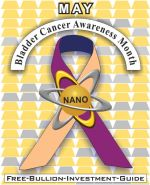 Cancer Awareness Gold Nano Ribbon