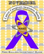 Care Givers Awareness Gold Nano Ribbon