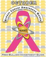 Breast Cancer Awareness Gold Nano Ribbon