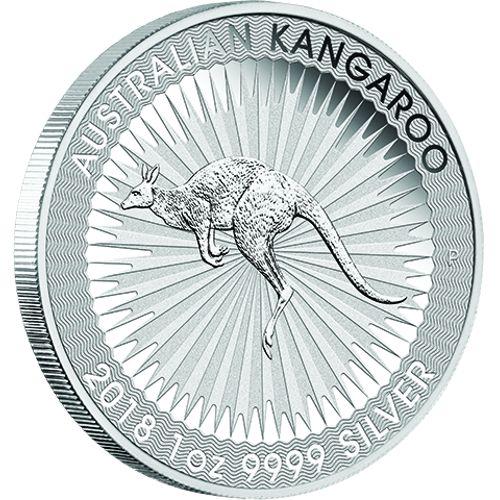 Australian 1oz. Silver Kangaroo Bullion Coin