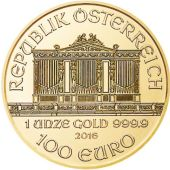Austrian Vienna Philharmonic gold bullion coin