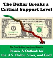 The Dollar Breaks a Critical Support Level