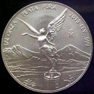 1/2 oz. Silver Libertad