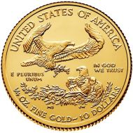 1/4 oz. American Eagle Gold