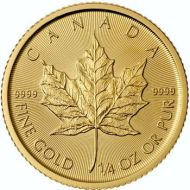 1/4 oz. Canadian Maple Leaf