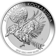 1 kilo. Kookaburra Bullion Coin