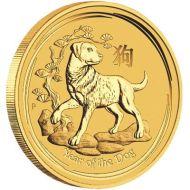 1/2 oz. Australian Gold Lunar Bullion Coin