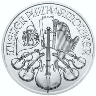 Austrian Philharmonic Silver Bullion Coin