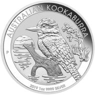1 oz. Australian Silver Kookaburra Bullion Coin