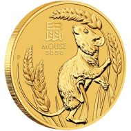 1/2 oz. Australian Gold Lunar Bullion Coin