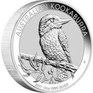 10 oz. silver kookaburra