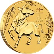 Gold Lunar Bullion Coin