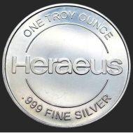 heraeus silver round