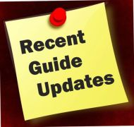 recent guide updates