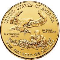 1/2 oz. American Eagle Gold  Bullion Coin