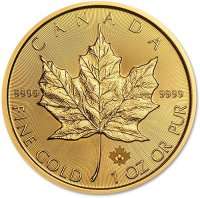 1 oz. Gold Maple Leaf Bullion Coin