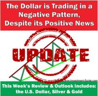 The Dollar is Trading in a Negative Pattern Despite its Positive News - UPDATE