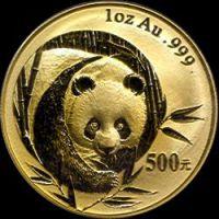 2003 chinese gold panda