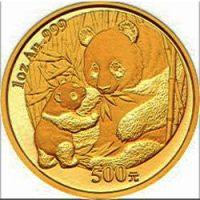 1 Oz Chinese Gold Panda Bullion Coin