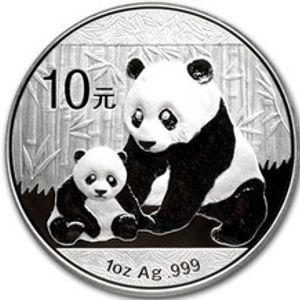 2012 chinese silver panda
