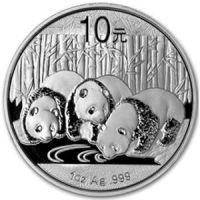 2013 chinese silver panda