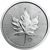 1 oz. Canadian Silver Maple Leaf Bullion Coin