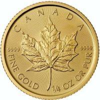 Gold Maple Leaf Bullion Coin