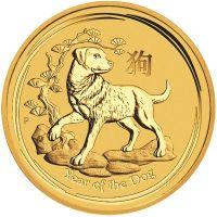 Gold Lunar Bullion Coin