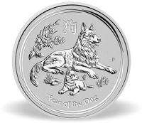 Silver Lunar Bullion Coin