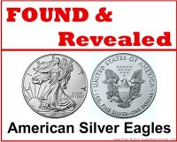 Found and Revealed American Silver Eagles