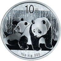 2010 chinese silver panda