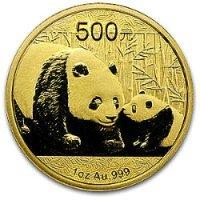 2011 chinese gold panda