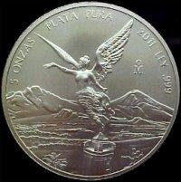 5 oz. Silver Libertad