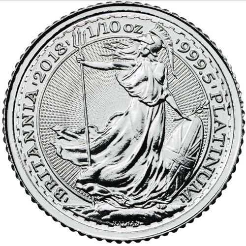 1/10 oz. Britannia Platinum