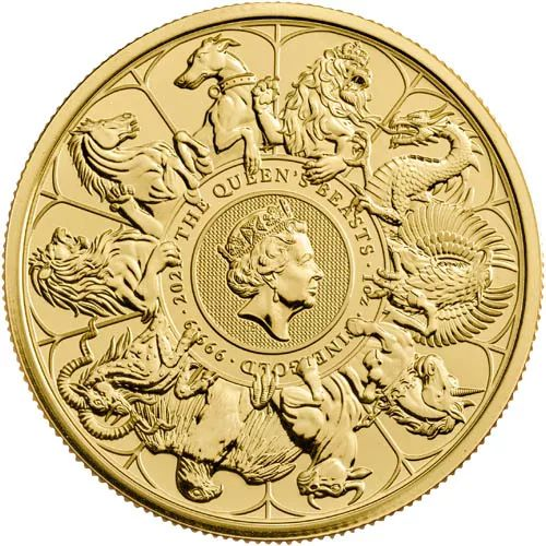 Queen's Beast Collection Coin