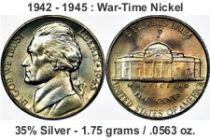 wartime nickel