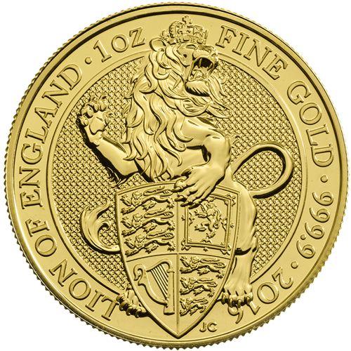 Queen's Beasts Gold