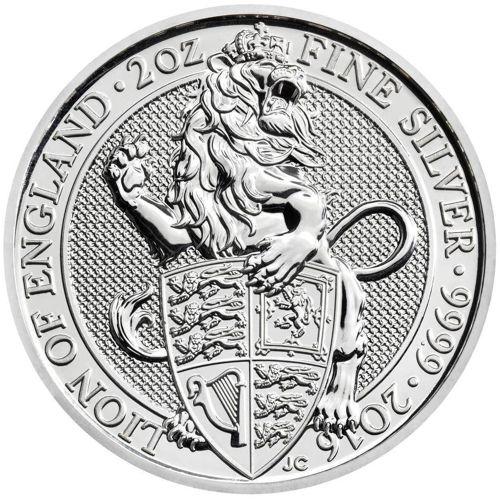 Queen's Beasts Silver