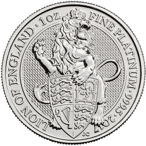 Queen's Beasts Platinum