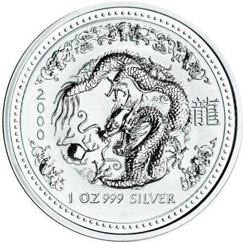 2000 series 1 - silver lunar dragon