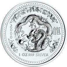 2000 series 1 - silver lunar dragon