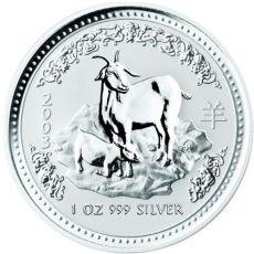 silver lunar goat