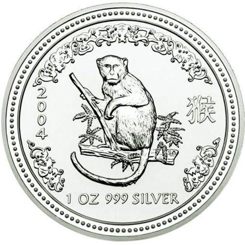 2004 series 1 - silver lunar monkey