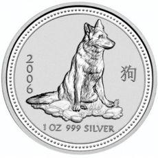 2006 series 1 - silver lunar dog