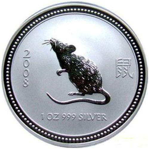 2008 series 1 - silver lunar mouse