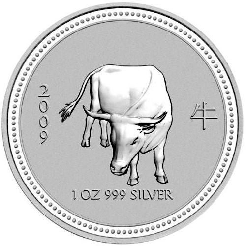 2009 series 1 - silver lunar ox