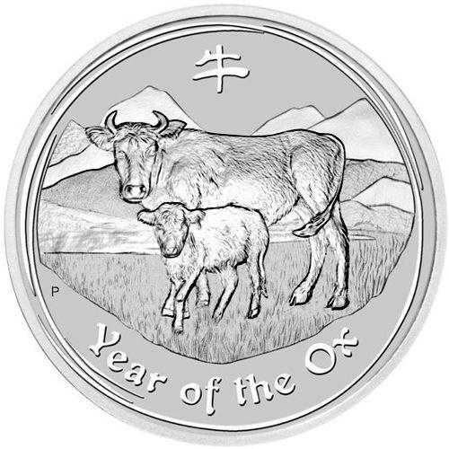 2009 series 2 - silver lunar ox