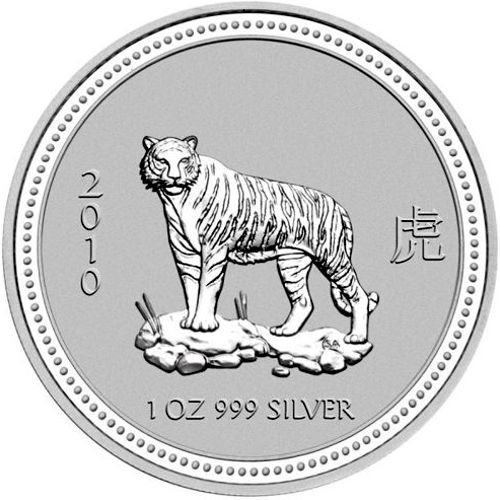 2010 series 1 - silver lunar tiger