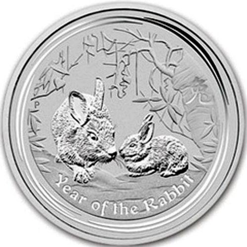 2011 series 2 - silver lunar rabbit