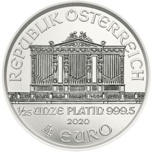 platinum philharmonic silver bullion coin